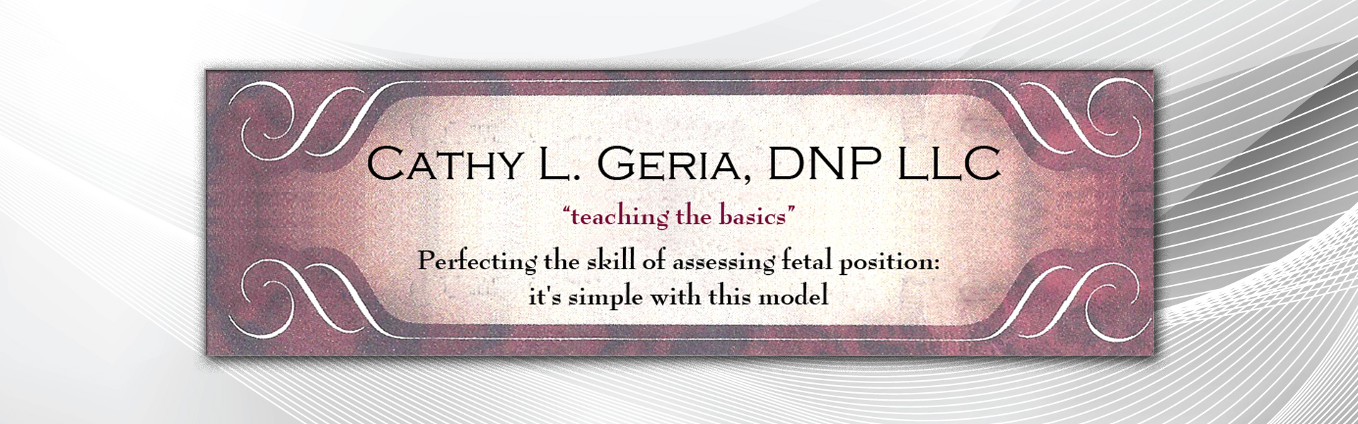 Banner Of Cathy L. Geria, DNP LLC